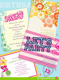 Wonderful Kids Birthday Invitation Ideas As Prepossessing Ideas