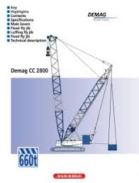 Demag Cc2800 Load Chart Metric Demag Crawler Crane Cc2800 1 600t Cranepedia