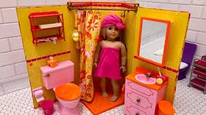 american girl doll julie s bathroom unboxing new