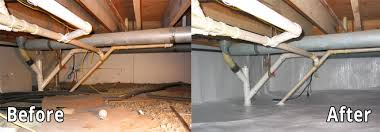 crawl space remediation. Perfect Remediation Encapsulation Before And After And Crawl Space Remediation I