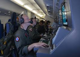 u s department of defense photo essay  the crew of a p 8a poseidon assists in the scan and search for a