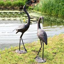 pair of cool cranes