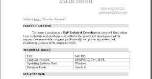 Interesting Sap Sd Fresher Resume Format 66 For Resume For Customer Service  with Sap Sd Fresher Resume Format