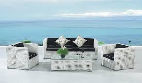 white garden furniture. Impressive On White Wicker Patio Furniture Design Plan Sofa Family Decorations Garden D