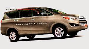 AUTOMOTIVE CRAZE: Next-generation Toyota Innova spied in India