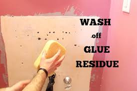 50 remove old wallpaper paste residue