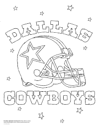 Dallas Cowboys Coloring Page Baby Jases Dallas Cowboys Nursery