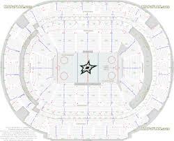 Dallas American Airlines Center Dallas Stars Tx Nhl Ice