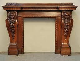 wood carved fireplace mantels large antique fireplace with lions heads carved out of oak wood hand