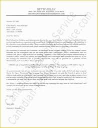 How To Write A Cover Letter For Early Childhood Education 10 Samples Of Teaching Cover Letters Resume Samples