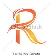 Custom Letter Art Template Delectable Letter R Logo Linemartinamarkovaco