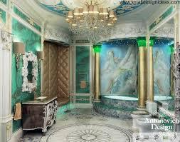 Rococo Decorative Wall Tile Interior Design Style 39