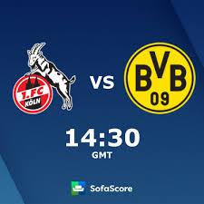 Früh in halbzeit zwei 31.: 1 Fc Koln Borussia Dortmund Live Score Video Stream And H2h Results Sofascore