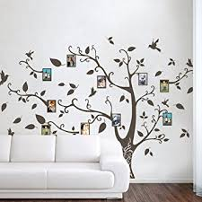 mairgwall photo frame family tree wall decals wall stickers family tree decal nursery wall art  on wall art stickers family tree with amazon mairgwall photo frame family tree wall decals wall