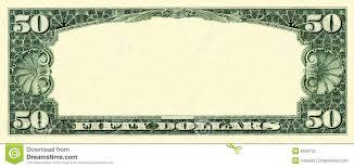 Design Your Own Dollar Bill Template Blank Dollar Bill Clipart