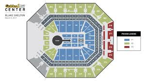 Golden One Seating Chart With Rows Blake Shelton Golden1center