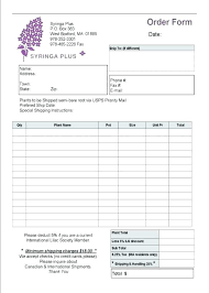 Wholesale Credit Application Simple Order Form Template Resume Business Order Form