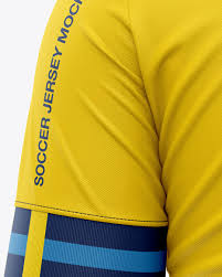 Espero que les sirva, si así es. Men S Soccer Jersey T Shirt Mockup Back View In Apparel Mockups On Yellow Images Object Mockups