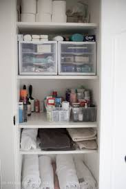 Elegant Bathroom Closet Organization Ideasin Inspiration To ...