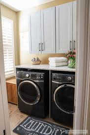 Ballard Designs Laundry Room Rack Beautiful Laundry Room Makeover With The Home Depot