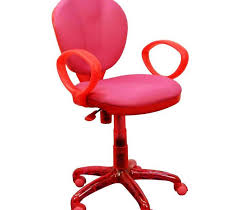 image of ikea pink office chair