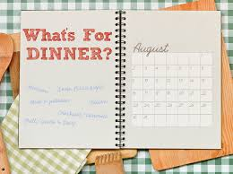 monthly planning guide create a monthly meal planning guide in 4 steps little rock family