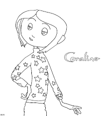 Small Picture Printable Coraline Coloring Pages For Kids And For Adults