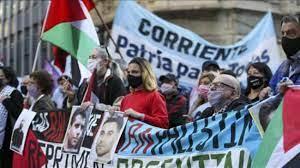 Arjantin'de Filistinli tutuklularla dayanışma, İsrail'i protesto gösterisi  düzenlendi - DÜNYA Haberleri