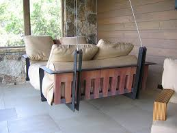sleigh swing bed