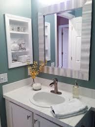 Bathroom Narrow Bathroom Vanity With Single Door Cabinet And Six