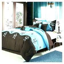 black and tan bedding sets teal comforter brown white