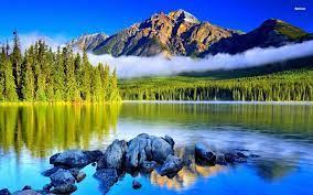 Nice Mountain Lake Wallpapers ...