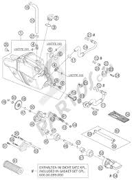 Lubricating system ktm 950 superenduro r 2007 eu