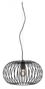 Hanglamp Open Gewerkt Draadstaal 40cm Zwart Lichtaccessoires