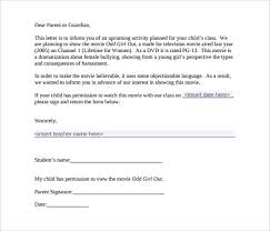 Parent Letter Template 10 Free Word Pdf Documents