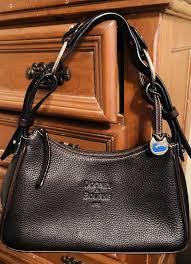 dooney bourke leather hobo handbag