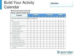 Calendar Template Online Marketing Calendar Template Excel Download Communication