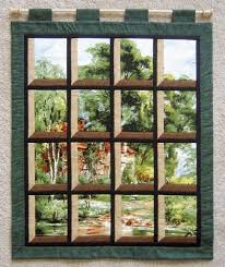332 best ATTIC WINDOWS Quilts images on Pinterest | Crafts, Window ... & I want to try one of these attic window quilts and maybe use a Santa panel  for the background. (Would be great with family or heritage photos. Adamdwight.com