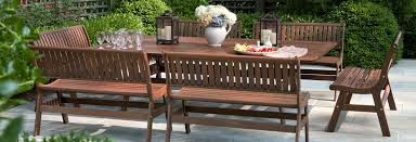 jensen leisure ipe wood beechworth table gensun casual wicker cast aluminum outdoor furniture