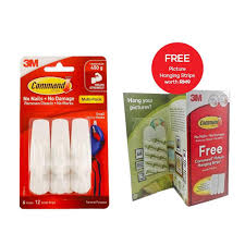 command small utility hook value pack free picture hanging strips
