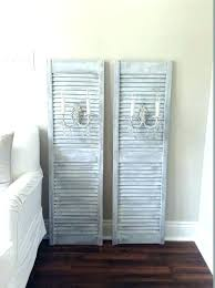 room decorating ideas vintage shutters wall decor small e decoration distressed best window shutter di using shutters as wall decor