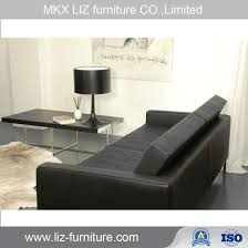 por style barcelona office leisure leather sofa set s1633