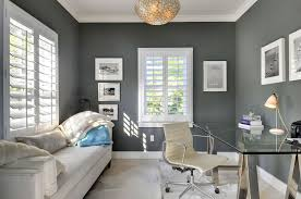 contemporary home office. contemporary home office with oneofakind devore metallic silver on g