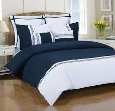 blue and white duvet sets