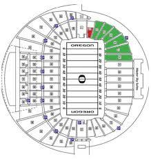 Autzen Stadium Seating Chart Oregon Ducks Football Autzen Stadium Seating Chart Best