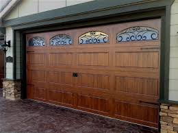 steel carriage house garage doors with 3 layer construction