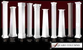 Square Architectural Columns