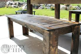 outdoor table plans wooden outdoor table plans bench o pertaining to designs plan 7 outdoor wood outdoor table plans