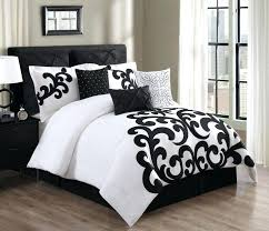 Black Twin Bed Set Bedding Bedding Twin Bedding Navy Blue And White ...