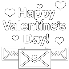 Valentine's day coloring pages are the perfect activity for children when this fun holiday approaches. Happy Valentines Day Coloring Page Valentine Coloring Valentines Day Coloring Page Printable Valentines Coloring Pages